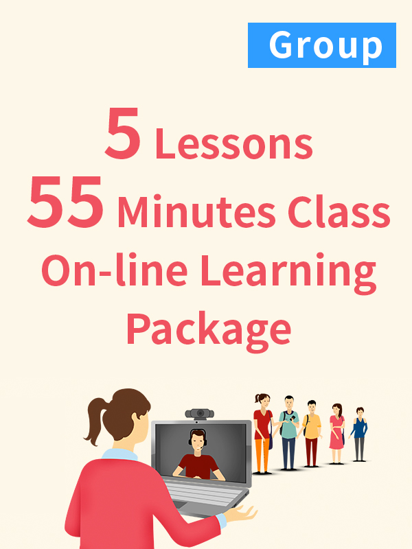 Group On-line Learning Package - 5 Lessons - 55 Minutes